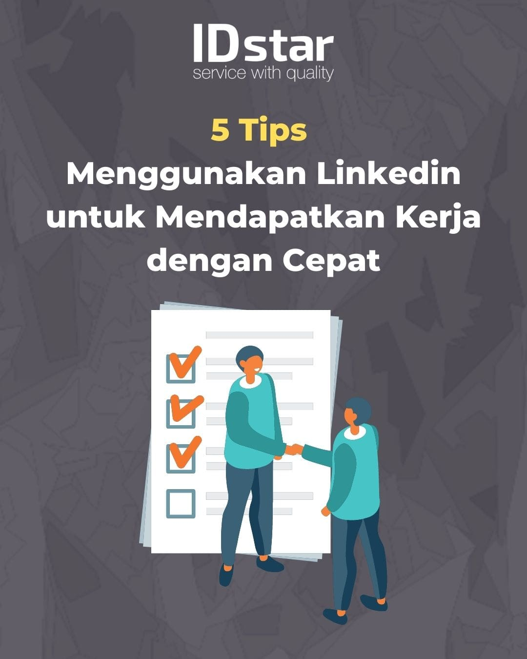 tips dapet kerja di linkedin
