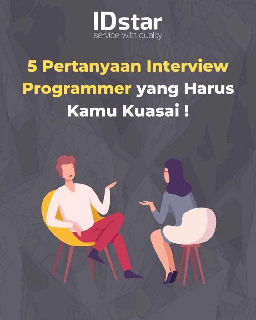 pertanyaan interview programmer