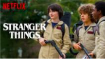 Netflix Series: Stranger Things Personalized Tumbnails